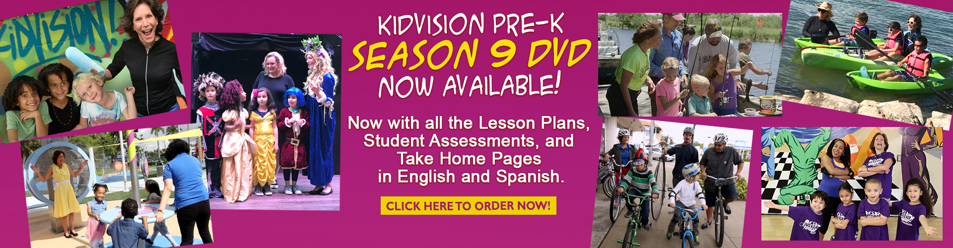 Welcome to KidVision PreK - Learn and Teach Standards for